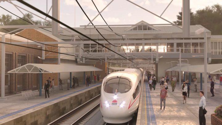 豪・ニューサウスウェールズ州政府の高速鉄道網建設 シドニーとその他の都市を結ぶ4ルートを構想 地域経済…