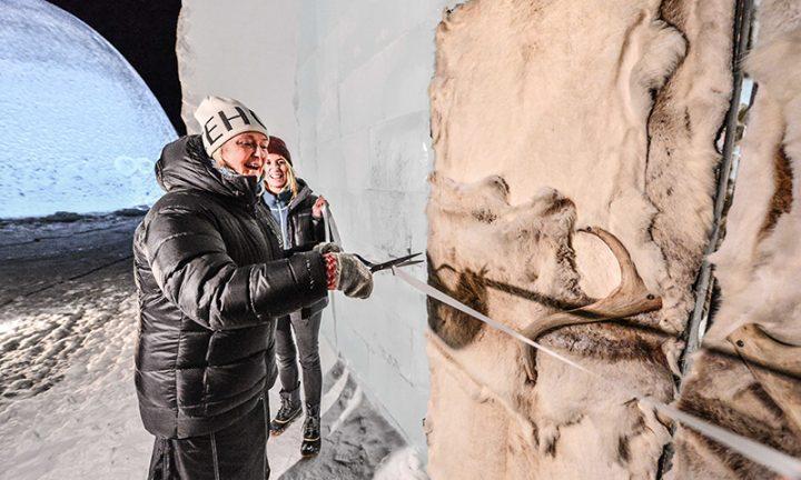 氷の部屋に宿泊できるスウェーデンのICEHOTEL 29回目のシーズンがスタート