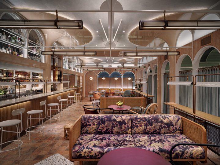上海のインテリアデザイン事務所 Linehouse が内装デザイン 香港の点心レストラン「John Anthony」