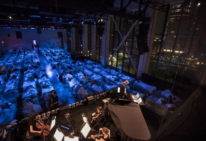 マックス・リヒターの「スリープ」は、真夜中から朝へのスペキュラティブな音楽体験