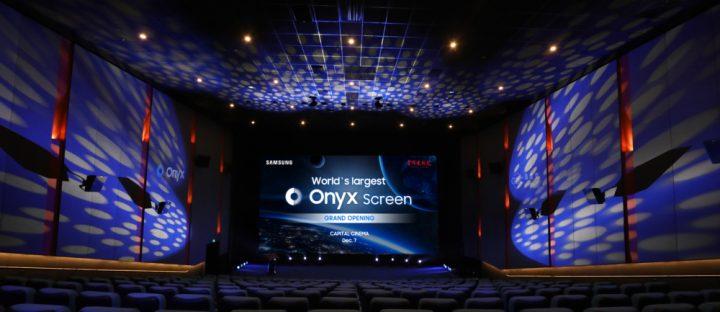 サムスン電子が全長14mのシネマLED「Onyx」を公開 これまでにない没入感の映画体験を提供