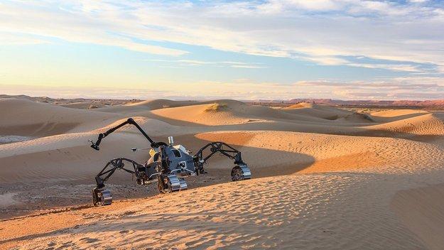欧州宇宙機関が最大となる探査車テストを実施 モロッコのサハラ砂漠を火星として想定