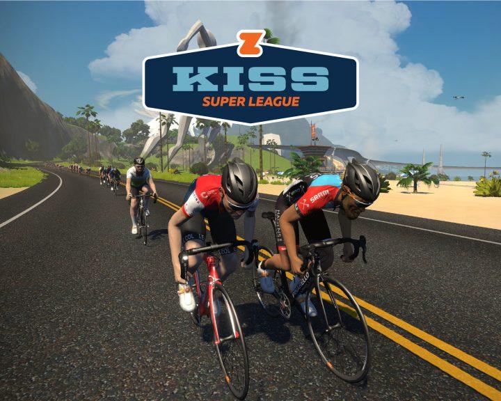 世界初のプロサイクリングチームによるeスポーツ競技会 Zwiftが「KISS Super League」を開催