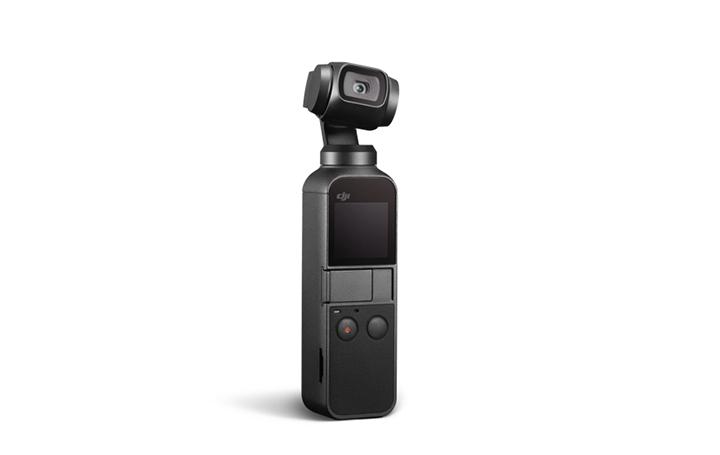 DJI史上最小の3軸メカニカルジンバル「Osmo Pocket」登場 簡単に手ブレのない映像が撮影可能