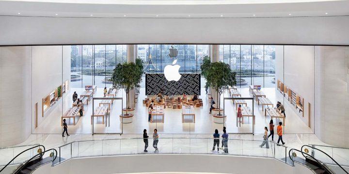 建築事務所 Foster + Partnersが手がけた「Apple Iconsiam」 タイで初めてのアップルストアがバンコクにオ…
