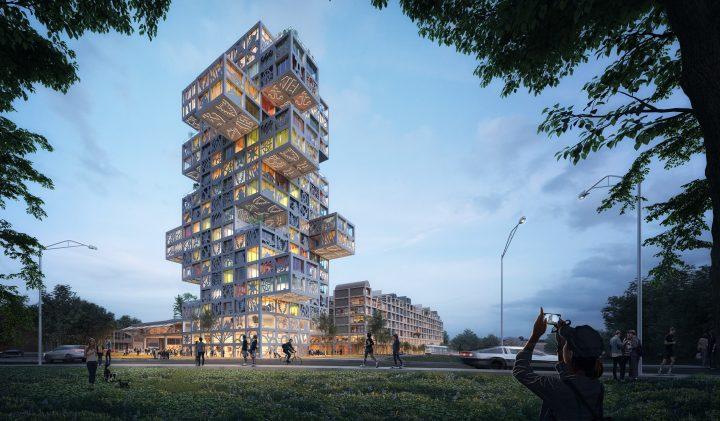 建築事務所 MVRDVが手がける 柔軟な設計システムによる「KoolKiel」