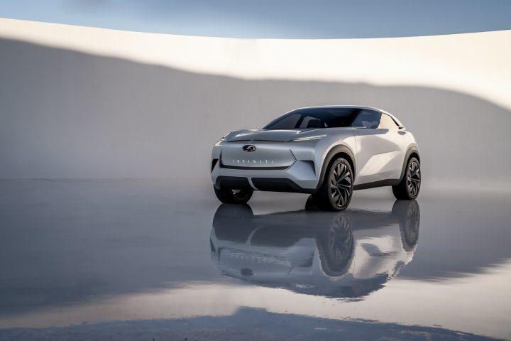コンセプトカー「INFINITI QX Inspiration」 米新聞社の読者が選ぶ「Best Future Concept」を獲得