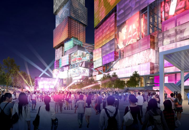 台北中心部に建設予定の新建築「Taipei Twin Towers」 建築事務所 MVRDVが設計案を公開