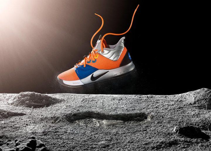 ナイキからNASAにちなんだデザインの限定シューズ 「Nike PG3 NASA colorway」が登場