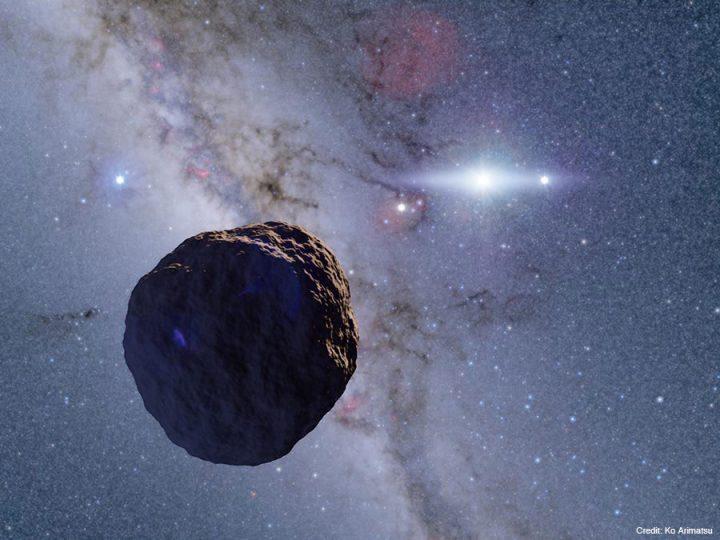 海王星の外側にある微小天体の影 市販の小型望遠鏡で捉えることに成功