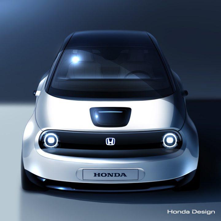 ホンダの新型EVプロトタイプデザインが公開 2019年3月のジュネーブモーターショーで初披露