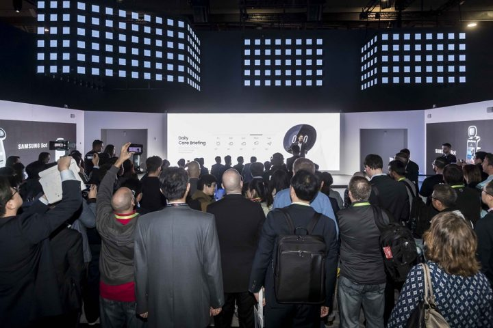 Samsungがサポートロボットを開発 CES 2019のSamsung Cityで披露