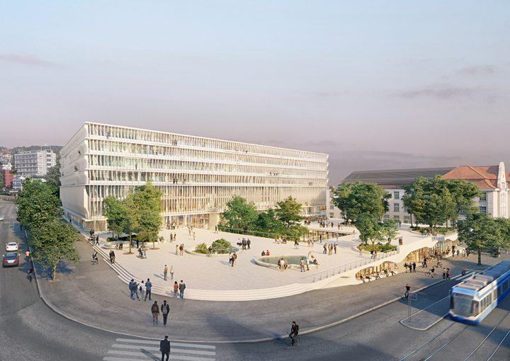スイスの建築ユニット Herzog & de Meuron チューリッヒ大学の新校舎「FORUM UZH」を設計