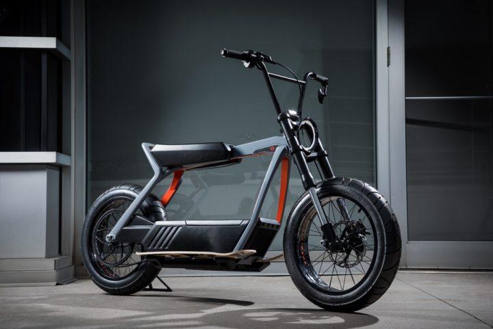 未来の都市に向けた2種類のコンセプト軽量電動バイク ハーレーダビッドソンが発表