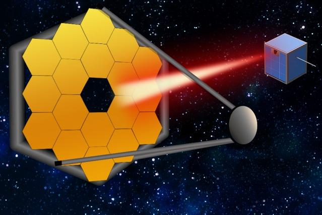 "MITの研究者チームが小型衛星用のレーザーを開発 巨大宇宙望遠鏡に""光""を供給"