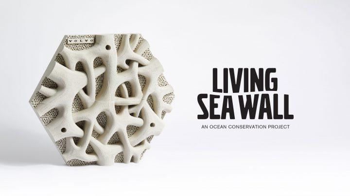 既存の護岸に設置することで海洋生物に生息地を提供、 ボルボ・オーストラリアが「リビングシーウォール」…