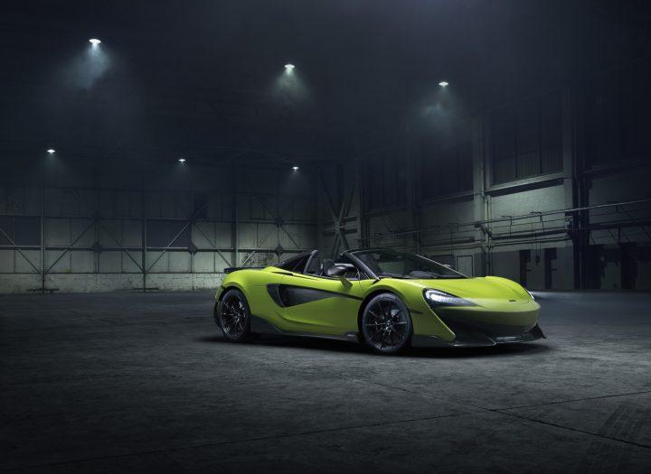 マクラーレン・ オートモーティブから新モデル 「McLaren 600LT Spider」が発表