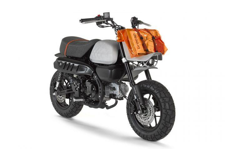 バイクメーカー Viba Motorから ホンダ「モンキー」をベースとしたデザインのバイク 「Jane」が登場
