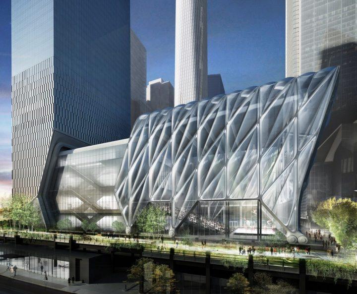 外装が伸縮可能なアートセンター「The Shed」 マンハッタンに2019年春オープン予定