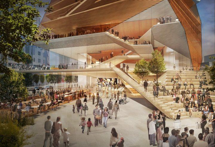 ロンドン・バービカンに建設予定の「Centre for Music」 Diller Scofidio + Renfroが設計案を公開