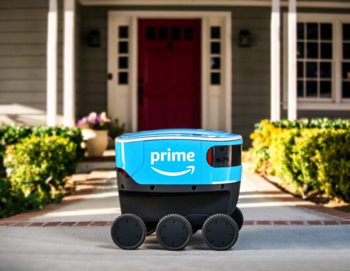 アマゾンの荷物配達ロボット「Scout」 アメリカ・ワシントン州で路上テストを開始