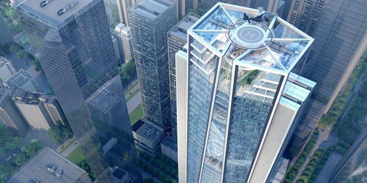 中国の招商銀行が深圳に新本社ビルを建設 担当した建築事務所 Foster + Partnersが設計案を公開