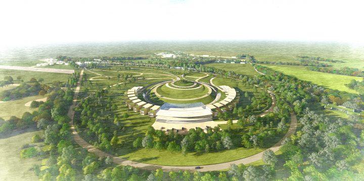 建築事務所 Foster + Partnersが手がける自動車博物館 「Mullin Automotive Park」の設計案が公開