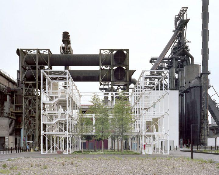 パリの建築事務所 INESSA HANSCH ARCHITECTE ルクセンブルク大学内の構造物を担当