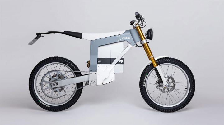 スウェーデン発 軽量電気オフロードバイク CAKEの最新モデル「Kalk&」が登場