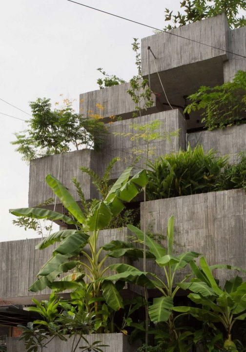 持続可能なライフスタイルのために 自給自足を目指す建築「Planter Box House」