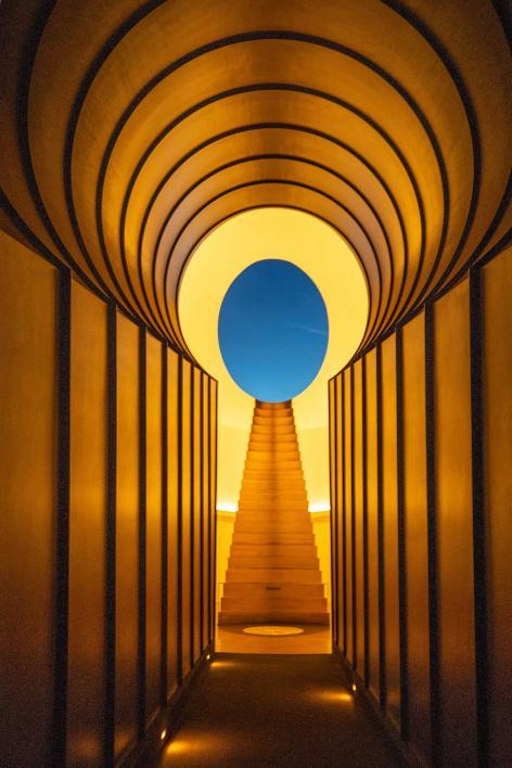 現代美術家 ジェームズ・タレルの大作「ローデン・クレーター」 アリゾナ州立大学が完成をサポート