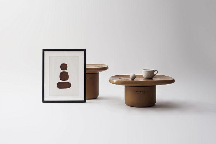 Moooiの新コレクション「Obon Tables」 Simone Bonanni Studioがテラコッタをヒントに製作