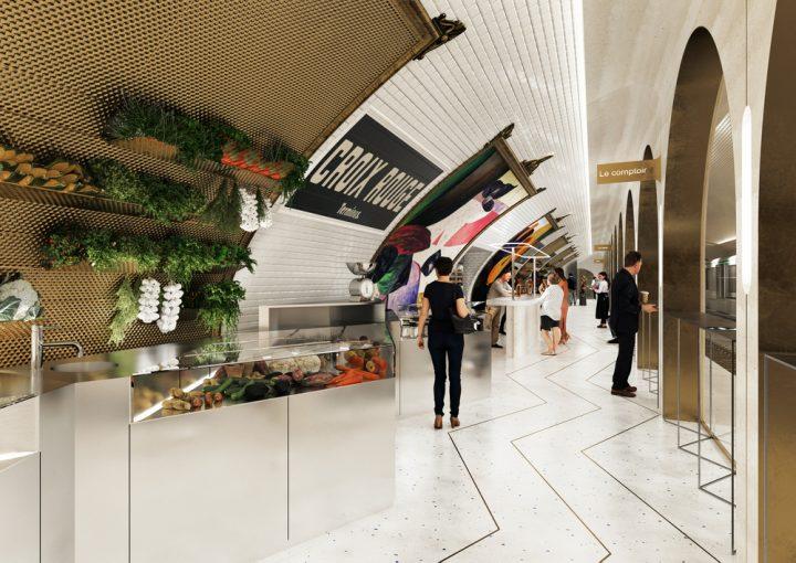 パリのメトロの廃駅をレストランに改装 ユニークなグルメ体験ができる「LE TERMINUS」
