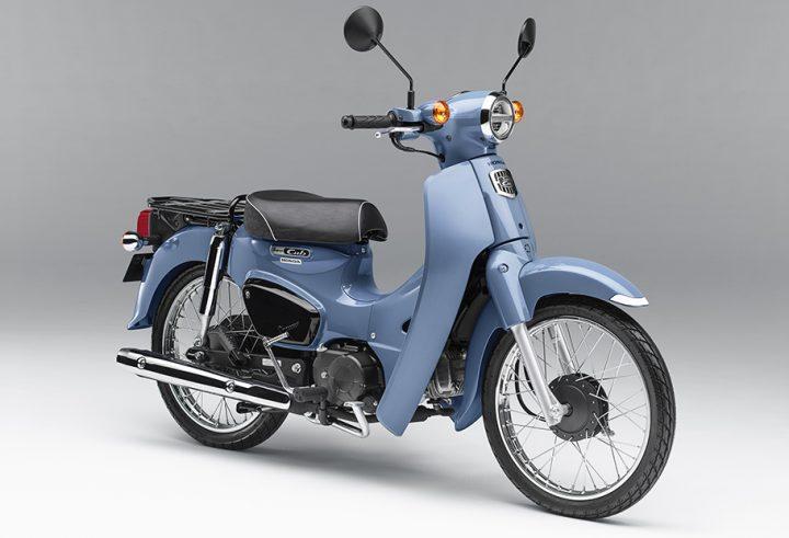 Honda「スーパーカブ」から新モデル2種が限定発売 街に溶け込む落ち着いたカラーリング