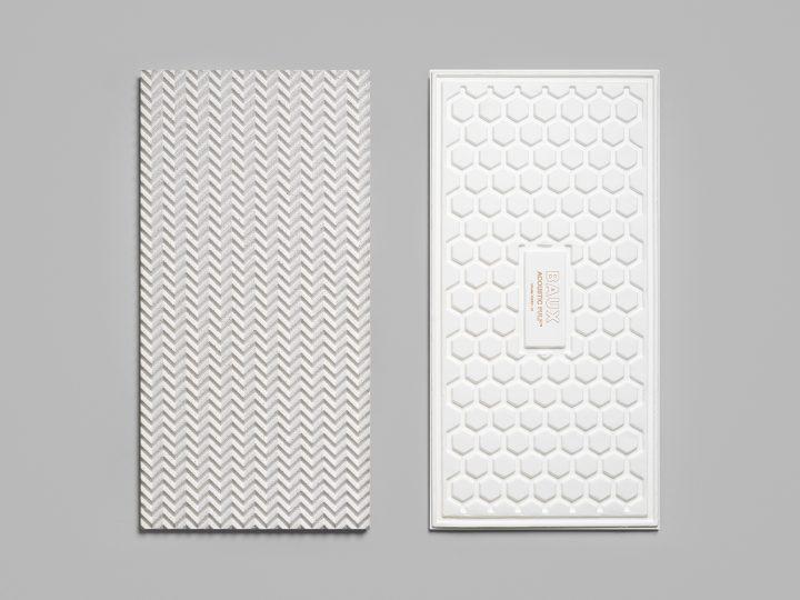 ストックホルムのデザインスタジオ Form Us With Love 100%バイオベースの吸音パネル「Baux」を公開