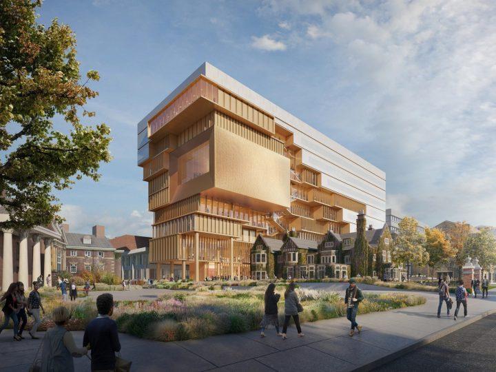 トロント大学の新校舎「90 Queen's Park」 歴史ある近隣の建築とのつながりを生み出すデザイン
