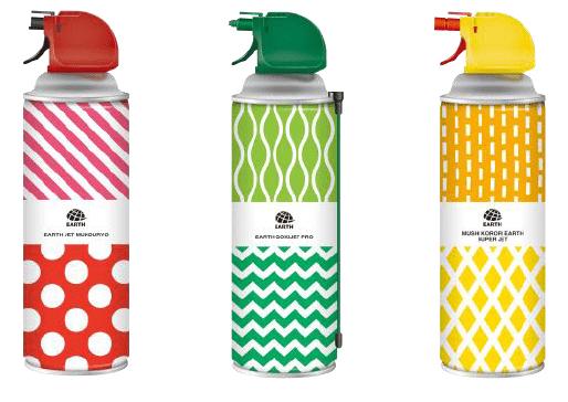 アース製薬から「虫ゼロ缶」が登場 虫のイラストがないパッケージデザインが特徴