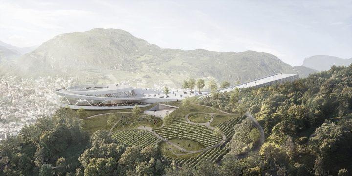 建築設計事務所スノヘッタがイタリア北部で手がける 山上の博物館「Museum Quarter」