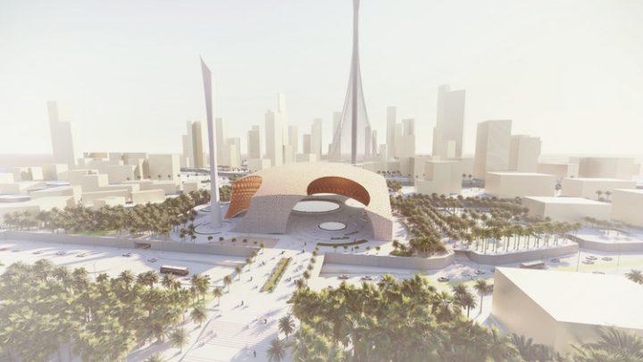 ドバイの歴史をもとにデザインしたモスク 建築事務所 AMLGMによる「PEARL MOSQUE」