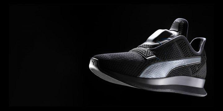 PUMAが開発する「Fit Intelligence」 スワイプするだけで靴紐を自動調整