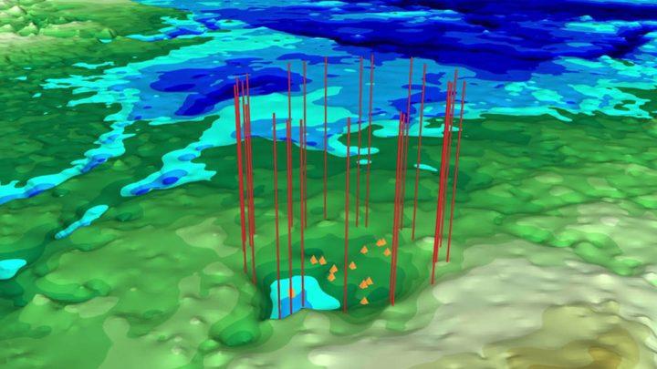 NASAがグリーンランドの氷河に眠る 2つ目の隕石衝突クレーターを発見