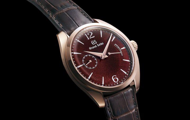 グランドセイコーから新しい腕時計が登場 ダイヤルにブランド初の漆芸を採用