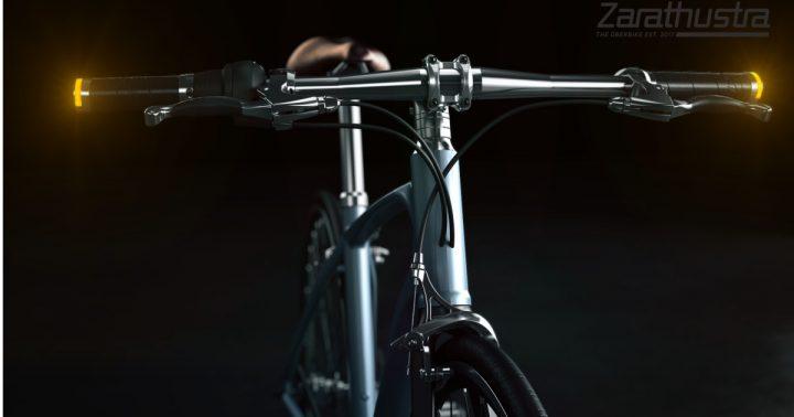 クラシカルなバイクからヒントを得た 自転車のハンドル用ターンシグナルグリップが登場