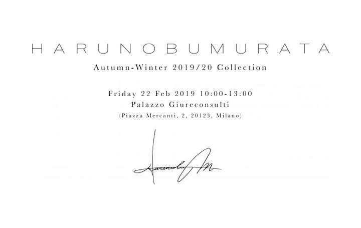 ファッションデザイナー 村田晴信の新ブランド 「HARUNOBUMURATA」デビューコレクションを発表