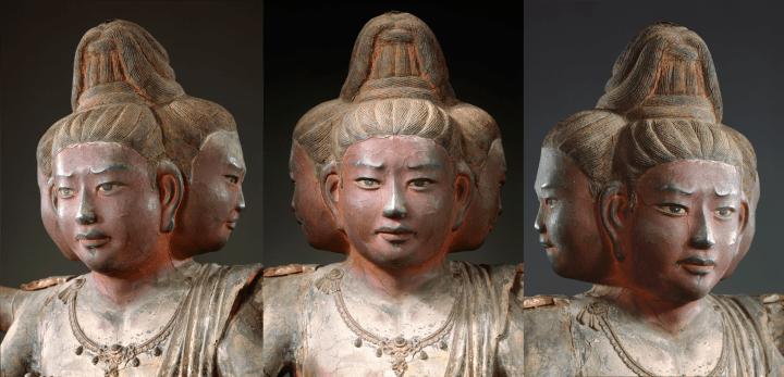 興福寺の阿修羅像の三つの顔はどんな表情? 奈良大学がAIで表現を解析