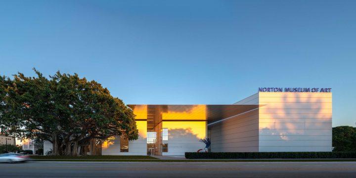 """米フロリダのノートン美術館がリニューアル Foster + Partnersが重視した""""もとの姿を取り戻す改修"""""""
