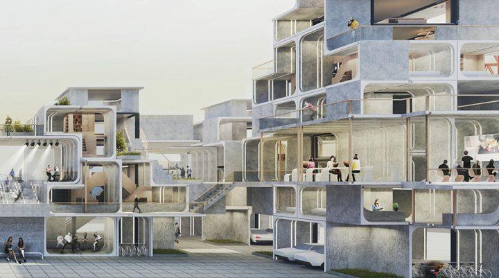 ロンドンの住宅不足の打開を図る国際建築コンペ 「LONDON AFFORDABLE HOUSING CHALLENGE」の受賞案が発表