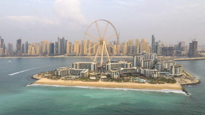 ドバイに新たなリゾートスポットがオープン 人工島「ブルーウォーターアイランド」