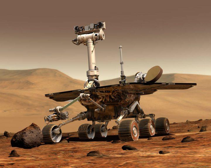 火星探査ローヴァー「オポチュニティ」 約15年にわたるミッションを終了