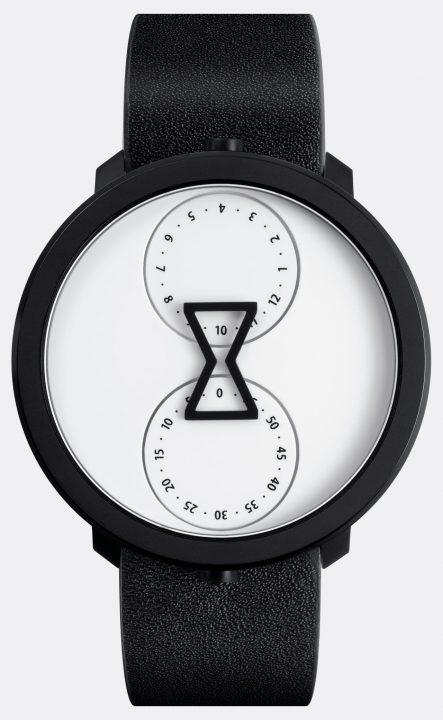 針のないミニマルなアナログ腕時計 デザインスタジオ ANTON&IRENEの「NU:RO」